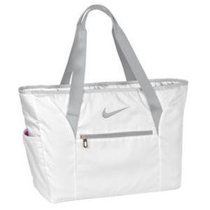 NWT Nike Golf Elite Tote Bag White/Fuschia Pink OO